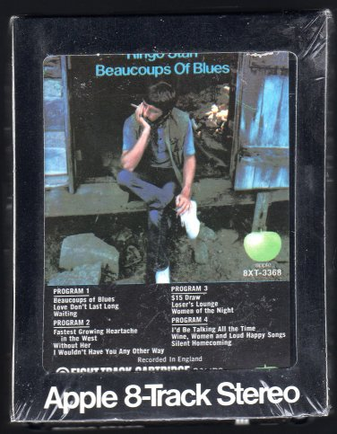 Ringo Starr - Beaucoups Of Blues 1970 APPLE A25 8-TRACK TAPE