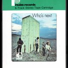 The Who - Who's Next 1971 DECCA REALM A25 8-TRACK TAPE