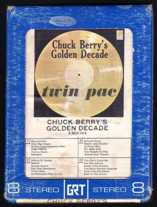 Chuck Berry - Golden Decade 1967 GRT CHESS T2 8-TRACK TAPE