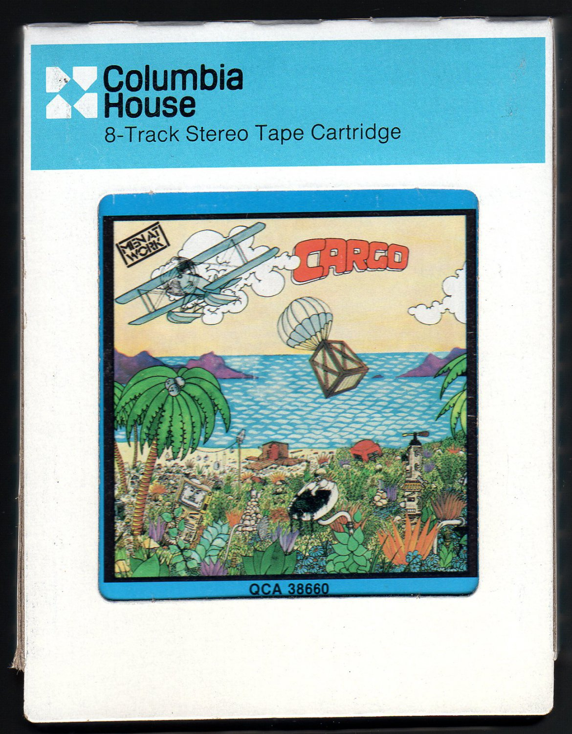 Men At Work - Cargo 1983 CRC CBS A21B 8-TRACK TAPE