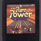 Pure Power - 20 Original Hits 20 Original Stars 1977 KTEL A4 8-TRACK TAPE