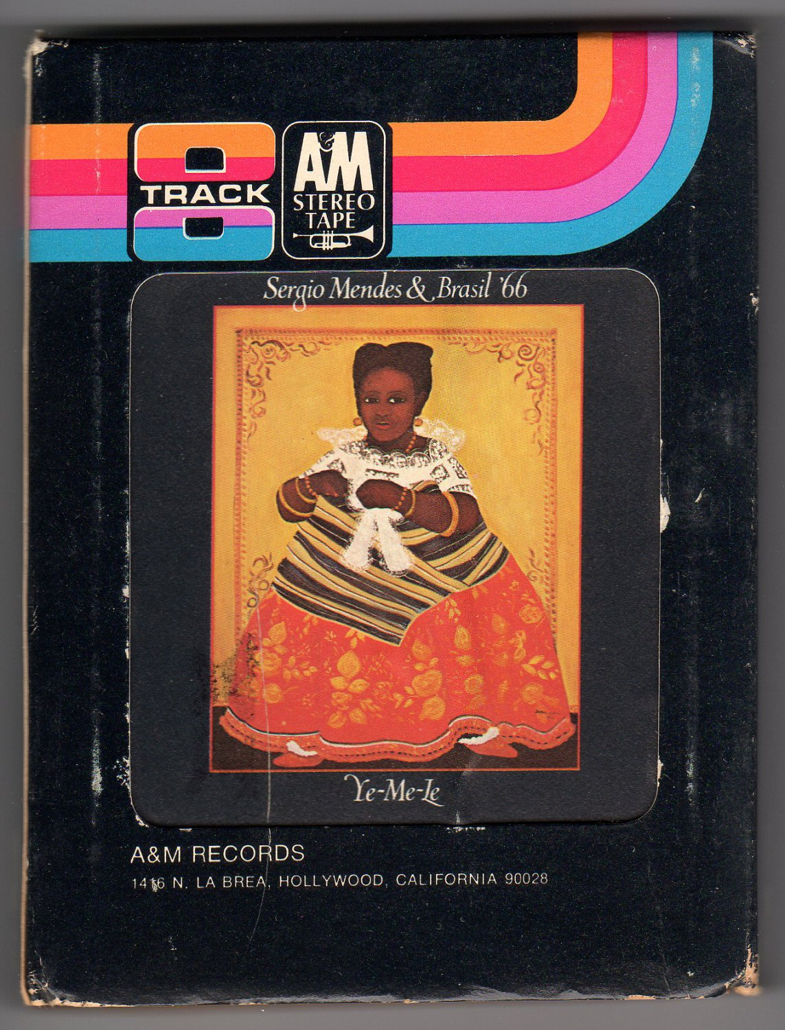 Sergio Mendes & Brasil '66 - Ye-Me-Le 1969 A&M A45 8-TRACK TAPE