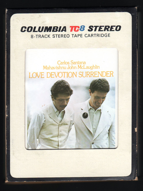 Carlos Santana & John McLaughlin - Love Devotion Surrender 1973 CBS A51 8-TRACK TAPE
