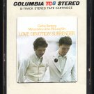 Carlos Santana & John McLaughlin - Love Devotion Surrender 1973 CBS A51 8-TRACK TAPE