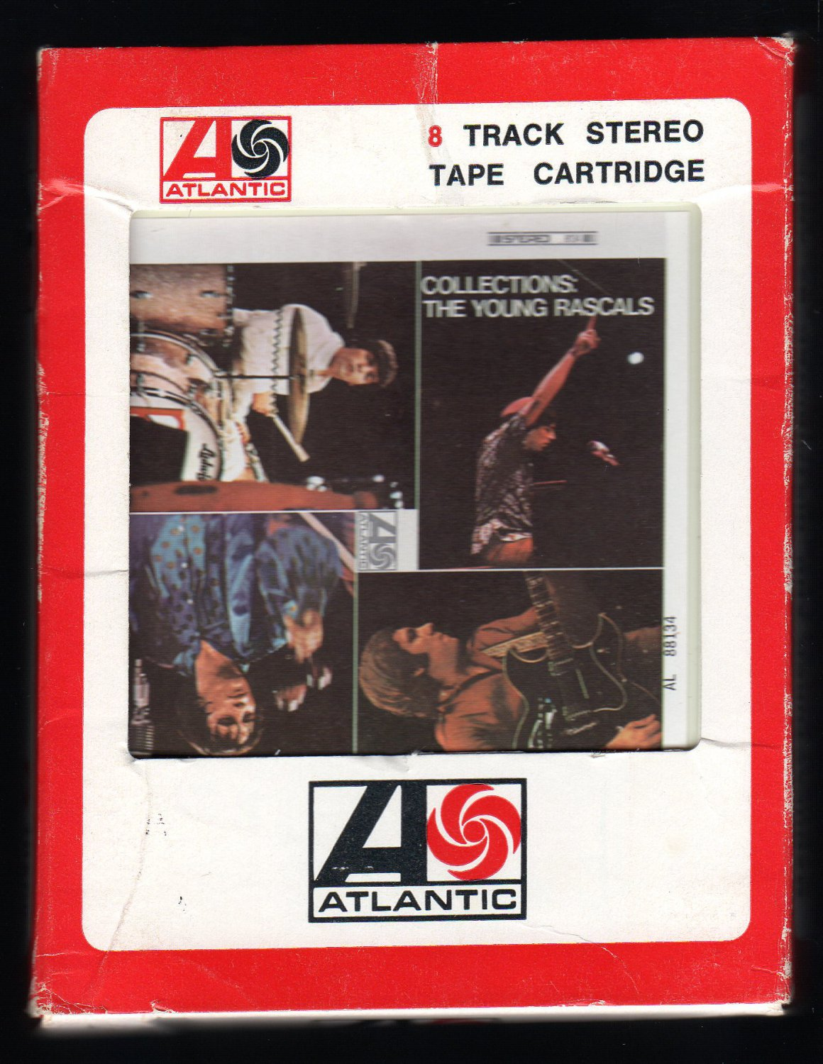 The Young Rascals - Collections 1967 AMPEX LEAR ATLANTIC A45 8-TRACK TAPE