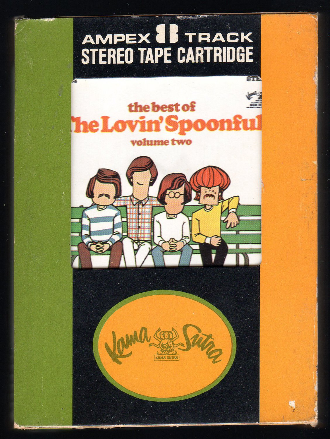 Lovin' Spoonful - The Best Of The Lovin' Spoonful Volume Two 1968 AMPEX KAMASUTRA A45 8-TRACK TAPE