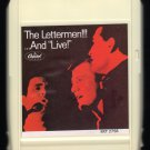 """The Lettermen - The Lettermen!!!...And """"LIVE"""" 1967 CAPITOL A27 8-TRACK TAPE"""