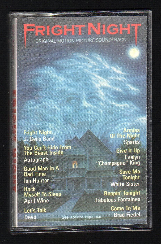 Fright Night - Original Motion Picture Soundtrack 1985 CBS C7 CASSETTE TAPE