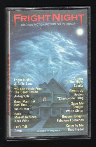 Fright Night - Original Motion Picture Soundtrack 1985 CBS C7 CASSETTE TAPE