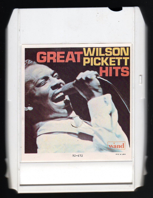 Wilson Pickett - Great Wilson Pickett Hits 1967 ITCC WAND C/O A32 8-TRACK TAPE