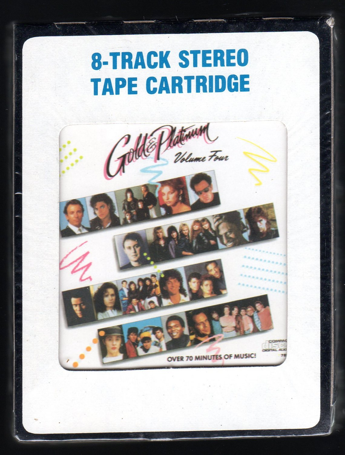 Gold & Platinum Vol 4 - Various Rock Compilation 1988 CRC REALM Sealed A32 8-TRACK TAPE