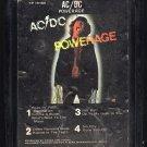 AC/DC - Powerage 1978 ATLANTIC A32 8-TRACK TAPE