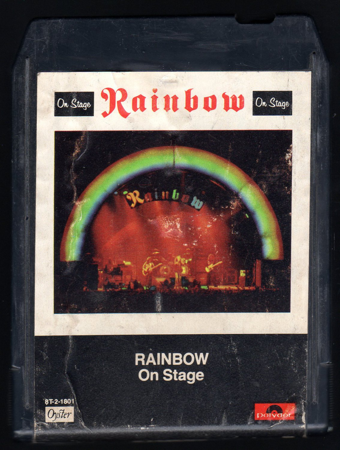 Rainbow - On Stage 1977 POLYDOR A32 8-TRACK TAPE