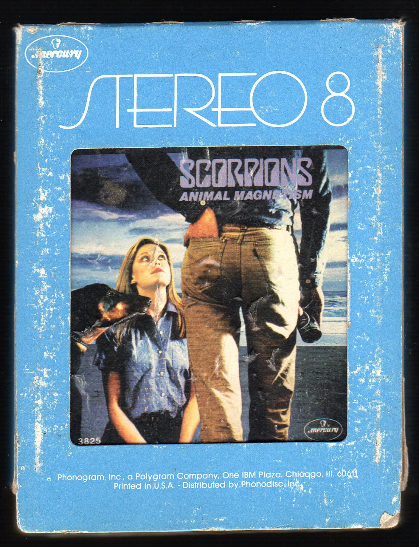 Scorpions - Animal Magnetism 1980 MERCURY A32 8-TRACK TAPE