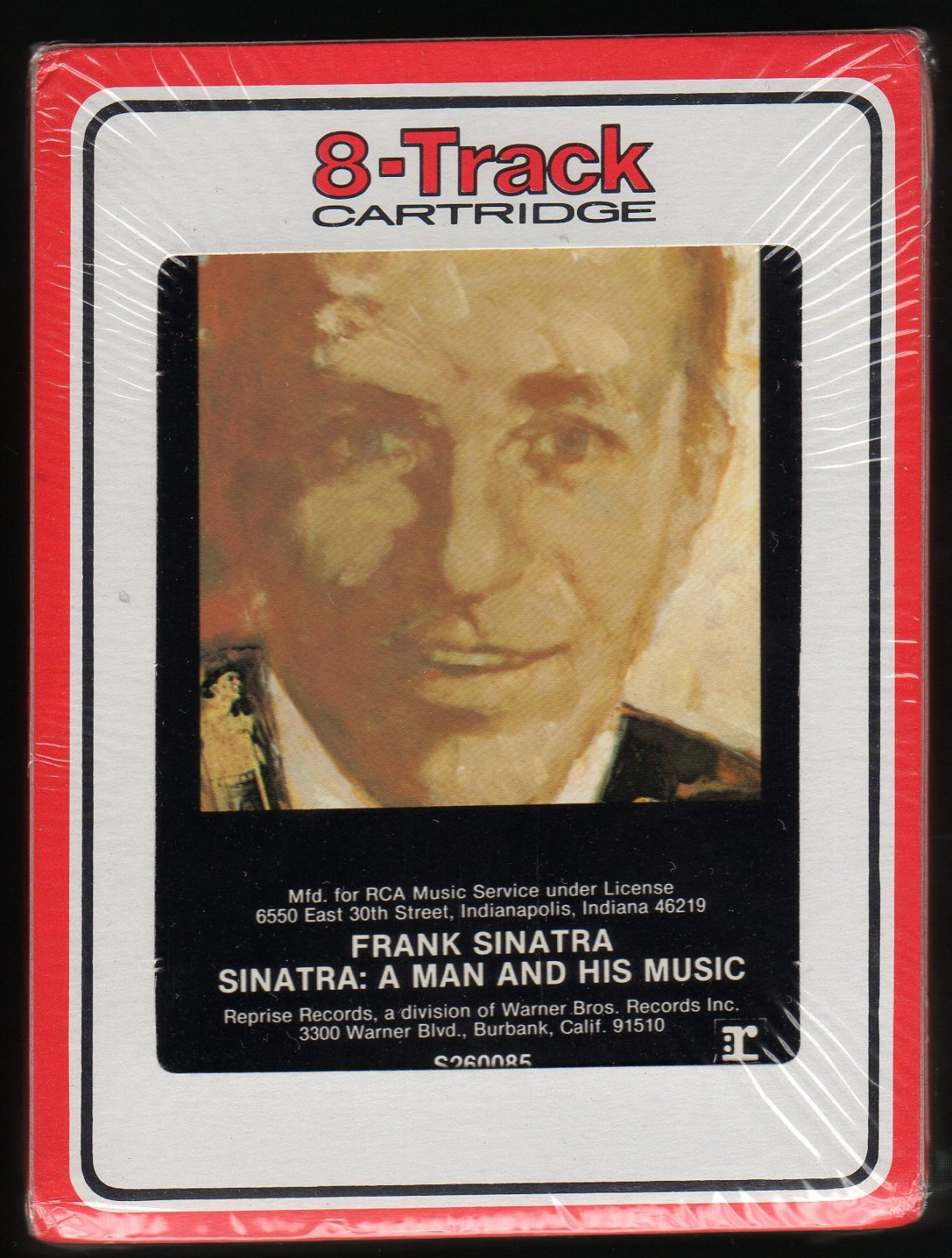 Frank Sinatra - Sinatra: A Man And His Music 1965 RCA Sealed Re-issue A32 8-TRACK TAPE