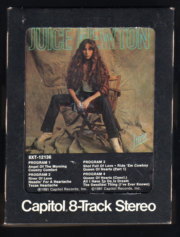 Juice Newton - Juice 1981 CAPITOL A32 8-TRACK TAPE