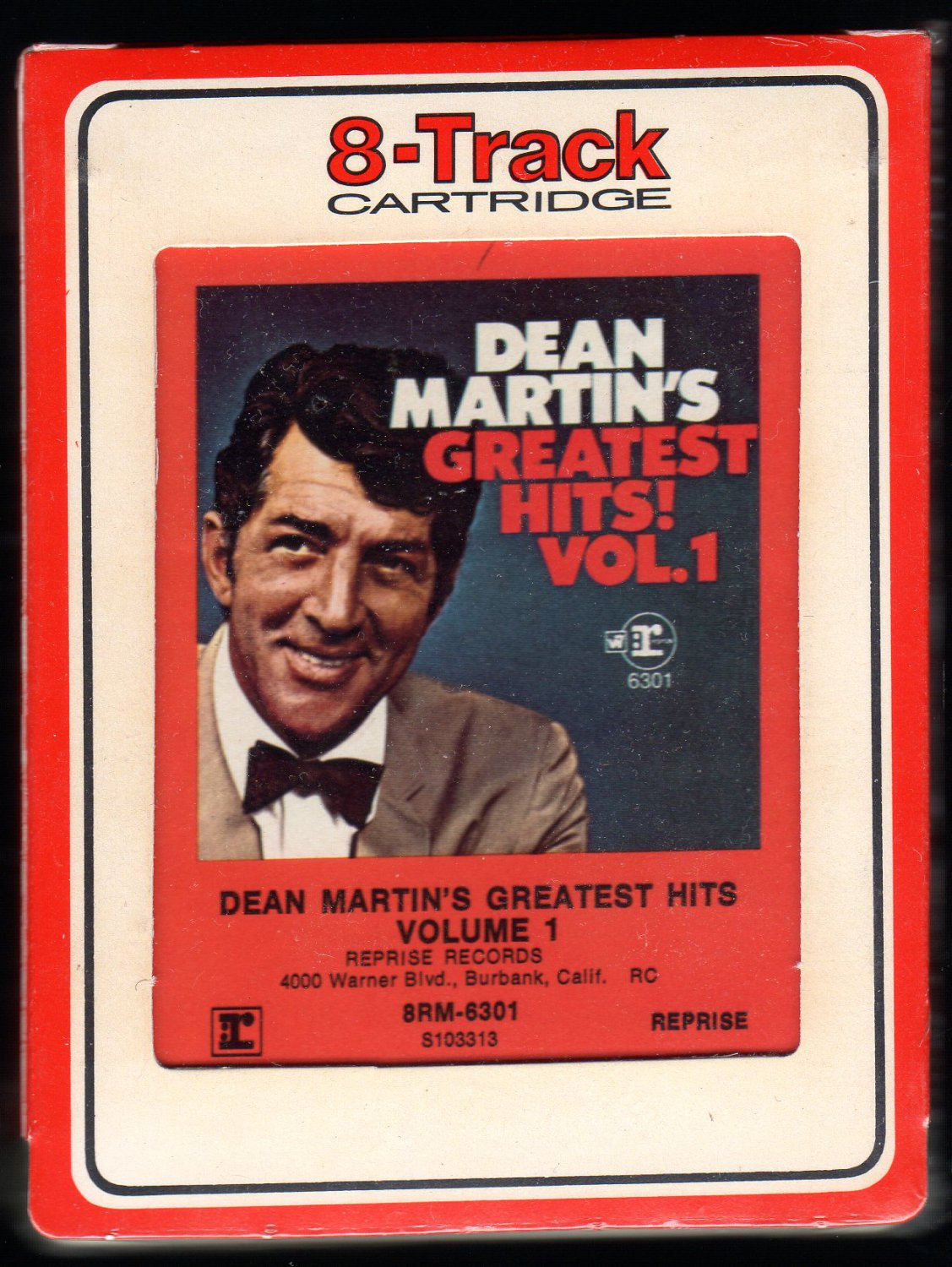 Dean Martin - Dean Martin's Greatest Hits Vol. 1 1968 RCA REPRISE Sealed Re-issue A32 8-TRACK TAPE