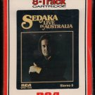 Neil Sedaka - Sedaka Live In Australia 1976 RCA Sealed A32 8-TRACK TAPE