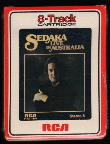 Neil Sedaka - Sedaka Live In Australia 1976 RCA Sealed A32 8-TRACK TAPE
