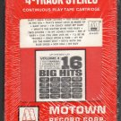 16 Big Hits - A Collection Of Original 16 Big Hits Vol 4 1965 MOTOWN Sealed A14 4-TRACK TAPE