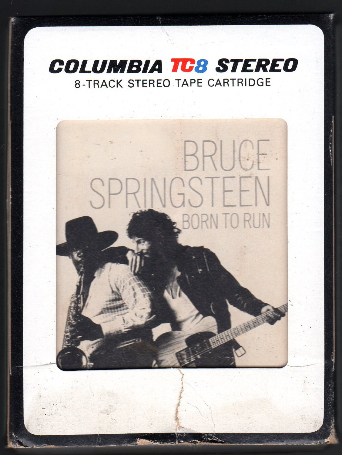 Bruce Springsteen - Born To Run 1975 CBS A18A 8-TRACK TAPE