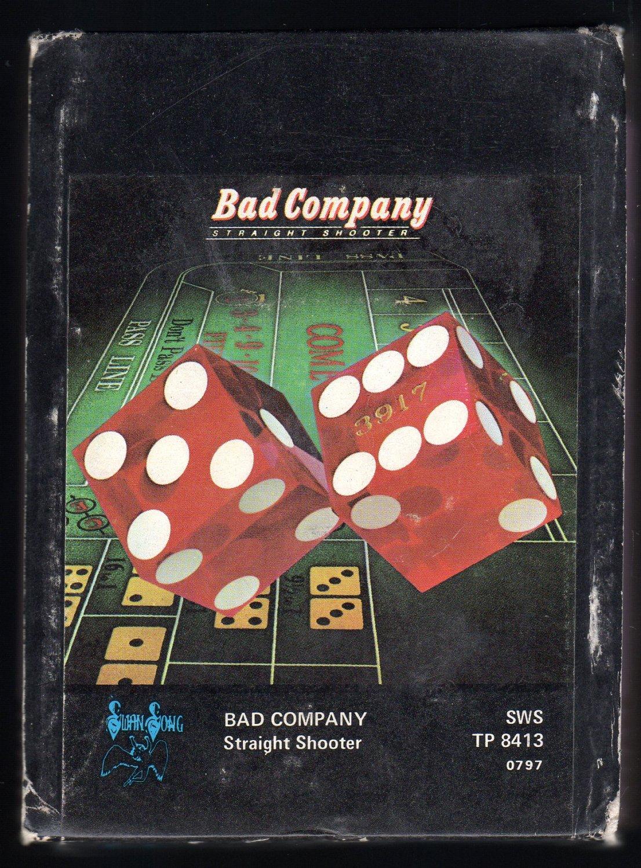 Bad Company - Straight Shooter 1976 ATLANTIC A11 8-TRACK TAPE