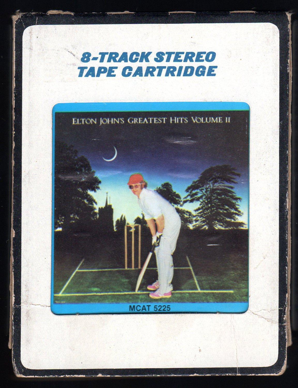 Elton John - Elton John's Greatest Hit's Vol II 1976 CRC MCA A42 8-TRACK TAPE