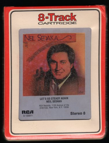 Neil Sedaka - Let's Go Steady Again 1976 RCA Sealed A13 8-TRACK TAPE