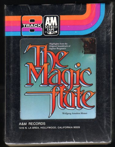 Wolfgang Amadeus Mozart - The Magic Flute 1976 A&M Sealed A13 8-TRACK TAPE