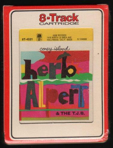 Herb Alpert & The Tijuana Brass - Coney Island 1975 RCA A&M Sealed A13 8-TRACK TAPE