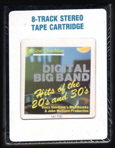 Vince Giordano's Nighthawks - Digital Big Band Hits 1984 CRC Sealed A13 8-TRACK TAPE