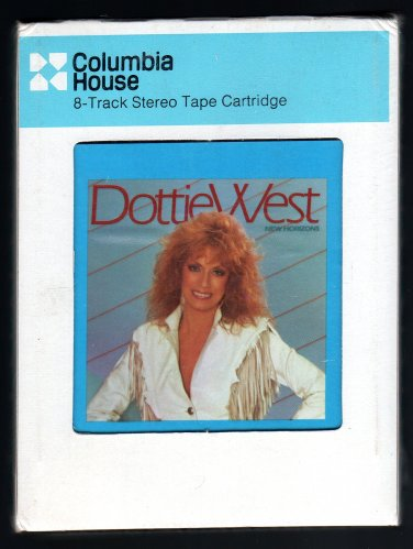 Dottie West - New Horizons 1983 CRC Sealed A13 8-TRACK TAPE