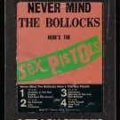 Sex Pistols - Never Mind The Bollocks Here's The Sex Pistols 1977 WB T8 8-TRACK TAPE