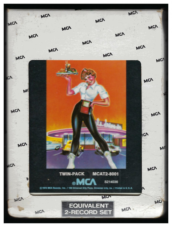 American Graffiti - 41 Original Hits Soundtrack Of American Graffiti 1973 MCA T3 8-TRACK TAPE