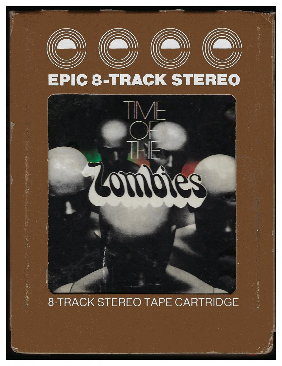 Zombies - Time Of The Zombies 1974 EPIC T3 8-TRACK TAPE