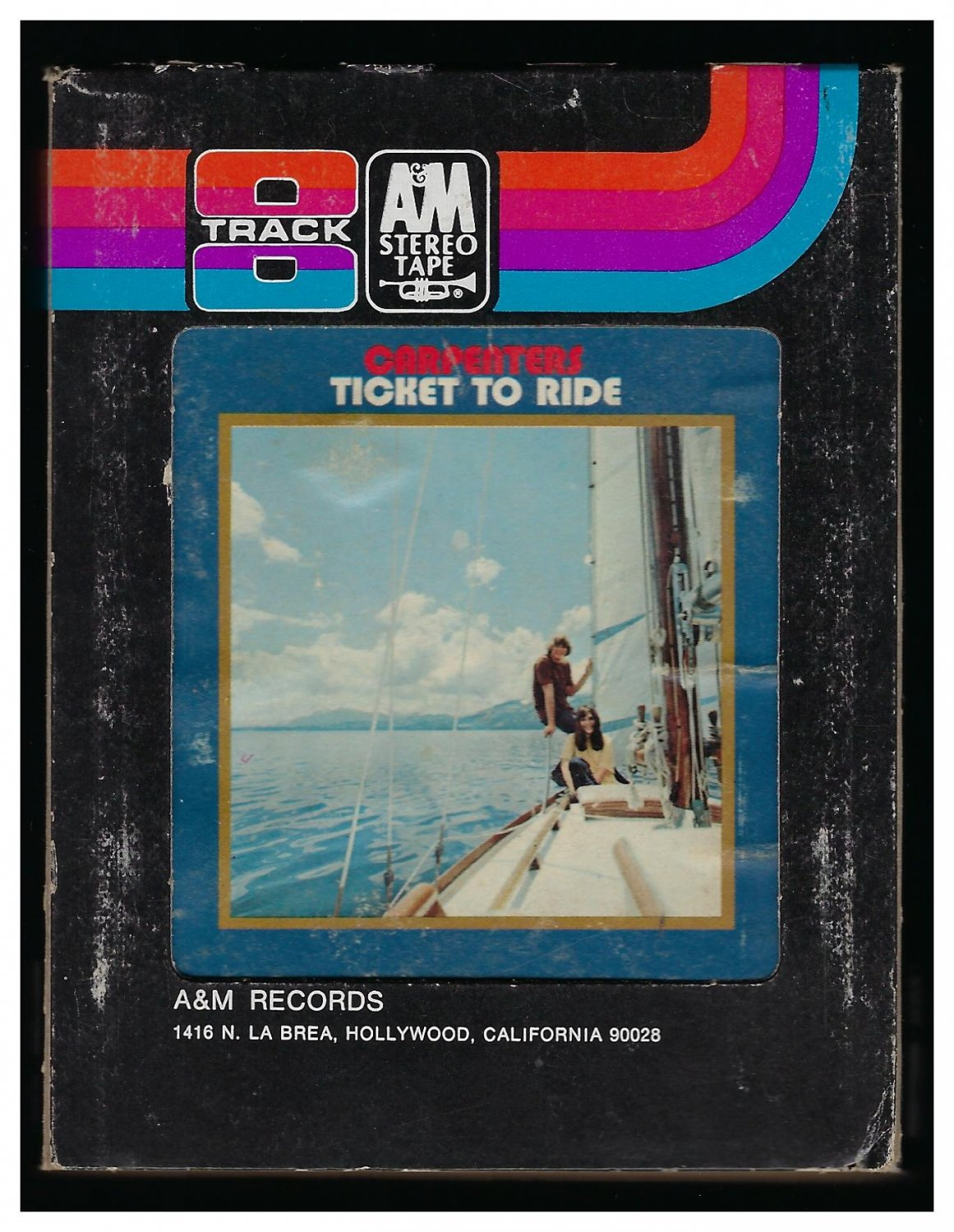 The Carpenters - Ticket To Ride 1969 A&M T5 8-TRACK TAPE
