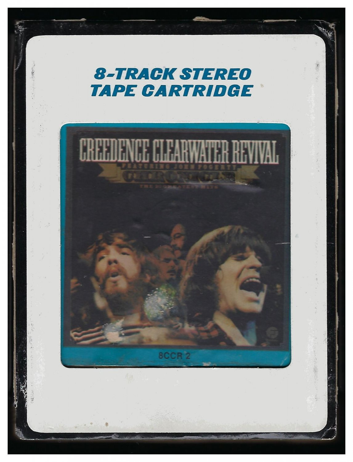 Creedence Clearwater Revival - Chronicle 1976 CRC FANTASY Re-issue T5 8-TRACK TAPE