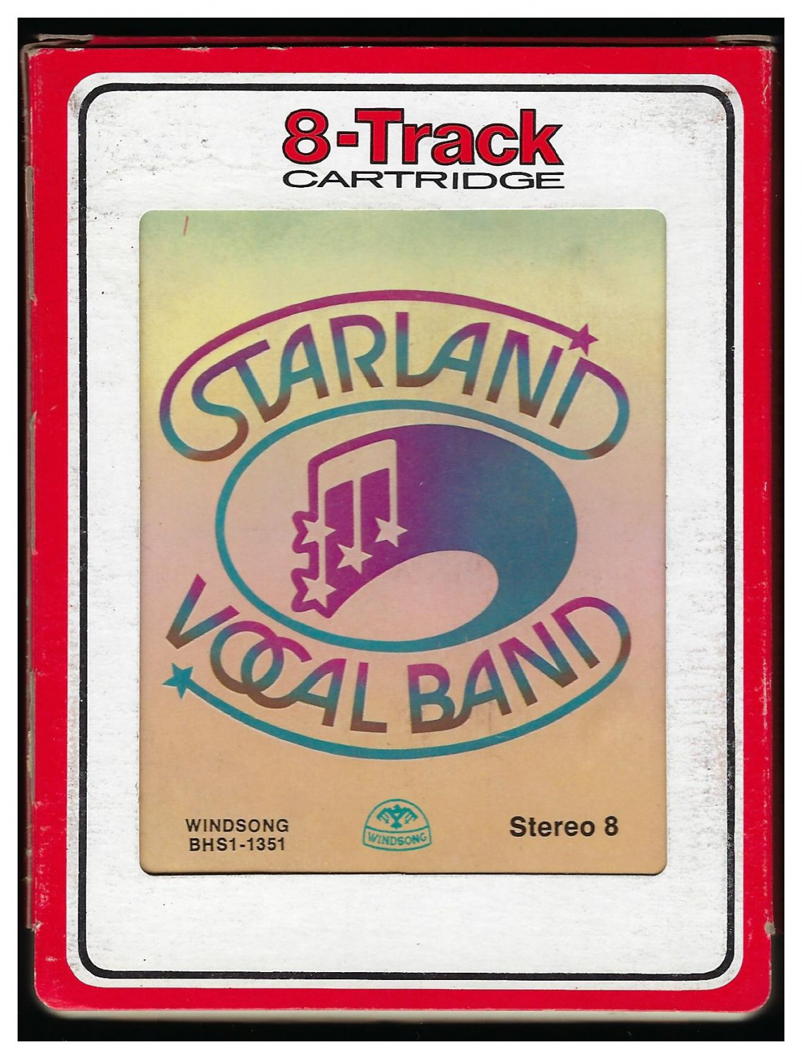 Starland Vocal Band - Starland Vocal Band 1976 Debut RCA WINDSONG A23 8-TRACK TAPE