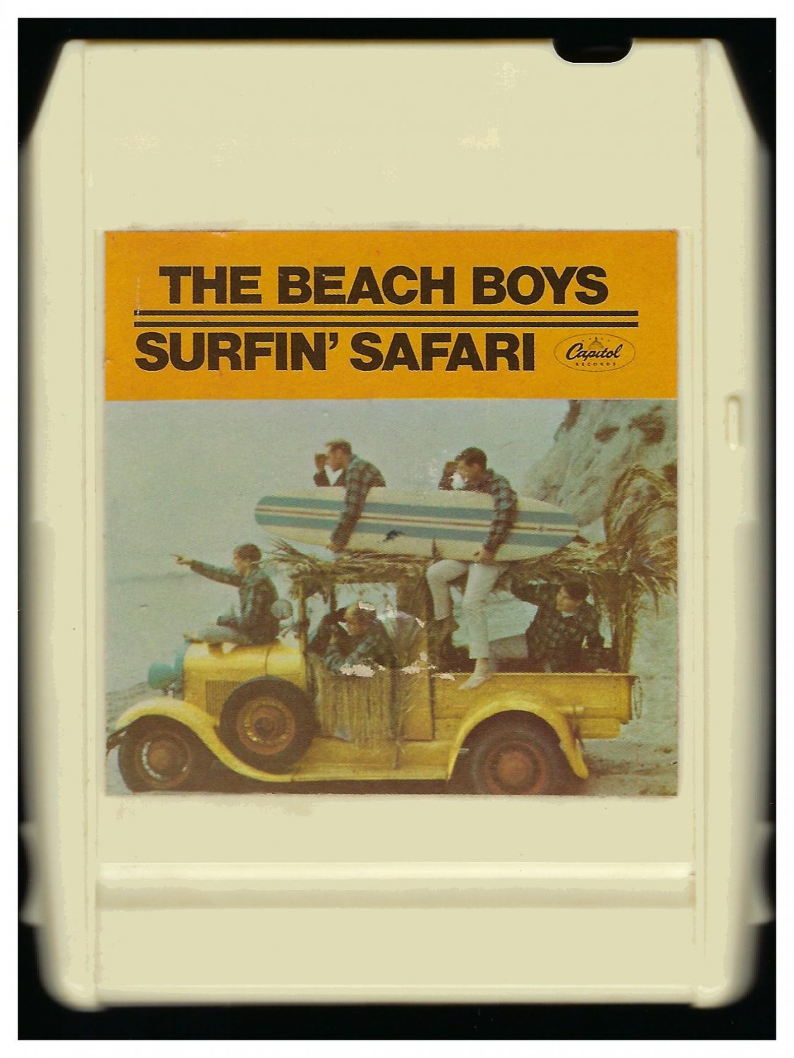 The Beach Boys - Surfin' Safari 1962 Debut CAPITOL A19C 8-TRACK TAPE
