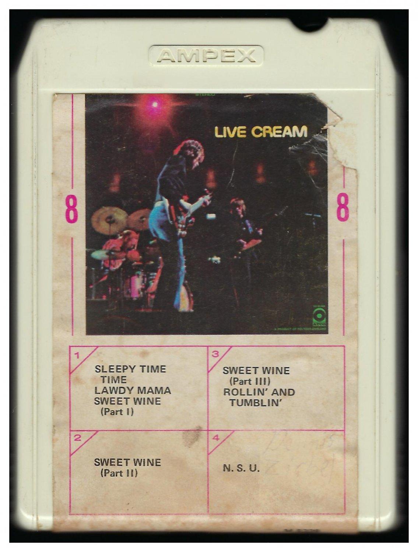 Cream - Live Cream 1970 AMPEX ATCO A23 8-TRACK TAPE