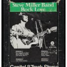 The Steve Miller Band - Rock Love 1971 CAPITOL A23 8-TRACK TAPE