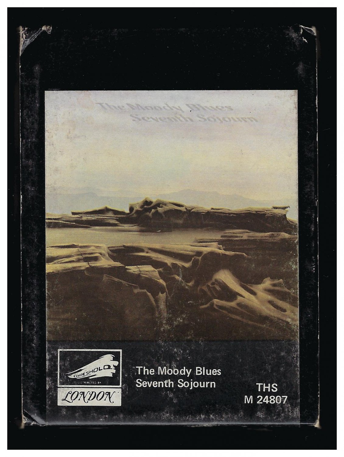The Moody Blues - Seventh Sojourn 1972 AMPEX THRESHOLD A23 8-TRACK TAPE