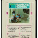 Herman's Hermits - The Best Of Herman's Hermits 1965 AMPEX MGM A8 8-TRACK TAPE