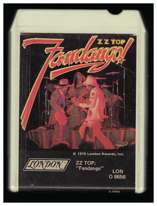 zz top fandango 1975 london t6 8 track tape. Black Bedroom Furniture Sets. Home Design Ideas