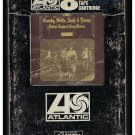 Crosby, Stills, Nash & Young - Deja Vu 1970 AMPEX ATLANTIC A25 8-TRACK TAPE