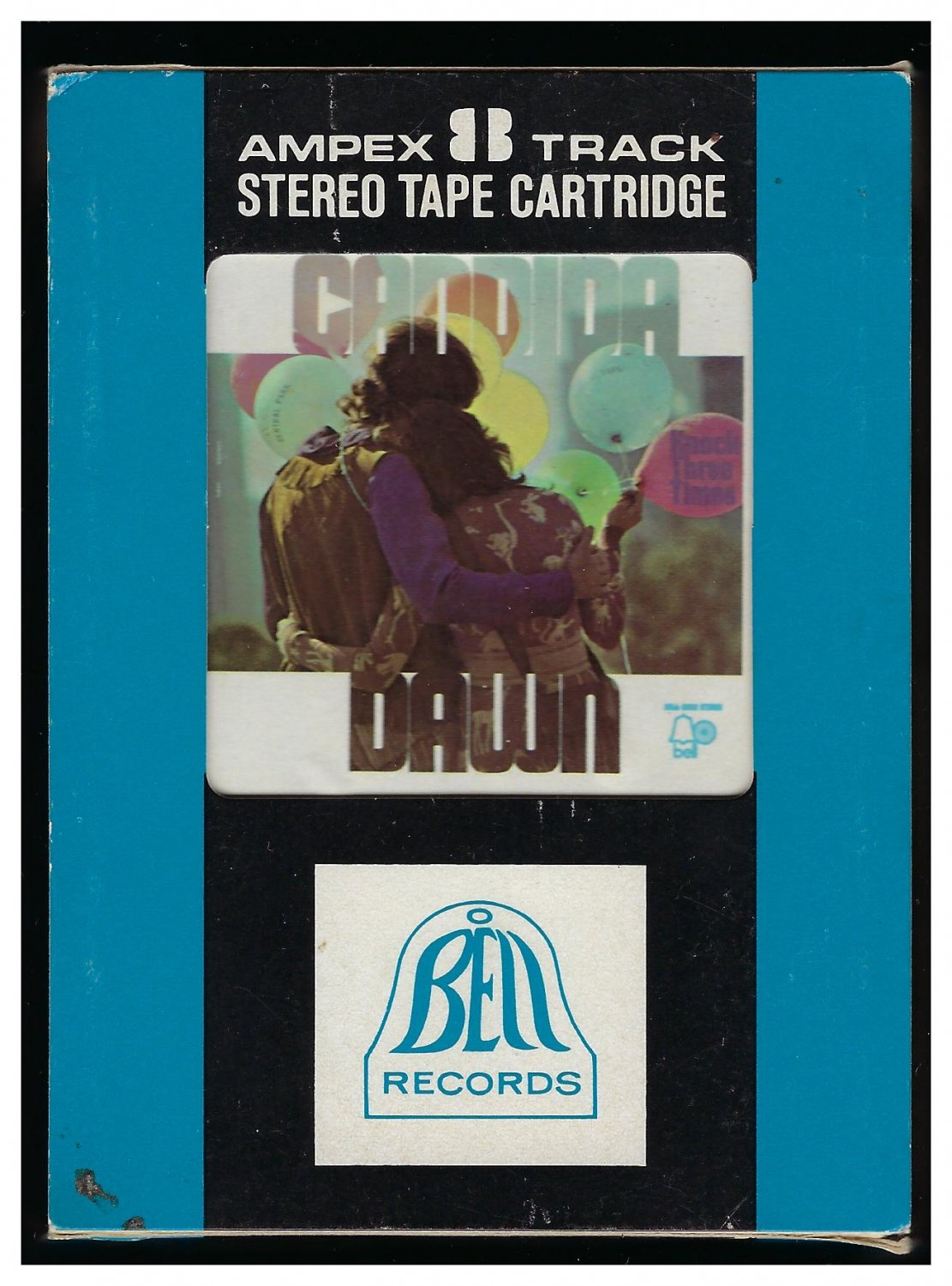 Dawn - Candida 1970 Debut AMPEX BELL A25 8-TRACK TAPE
