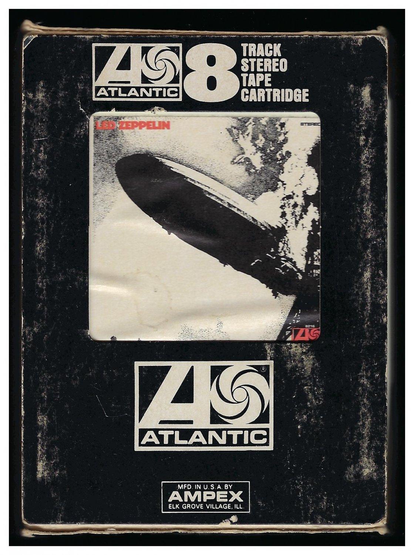 Led Zeppelin - Led Zeppelin 1969 Debut ATLANTIC A45 8-TRACK TAPE