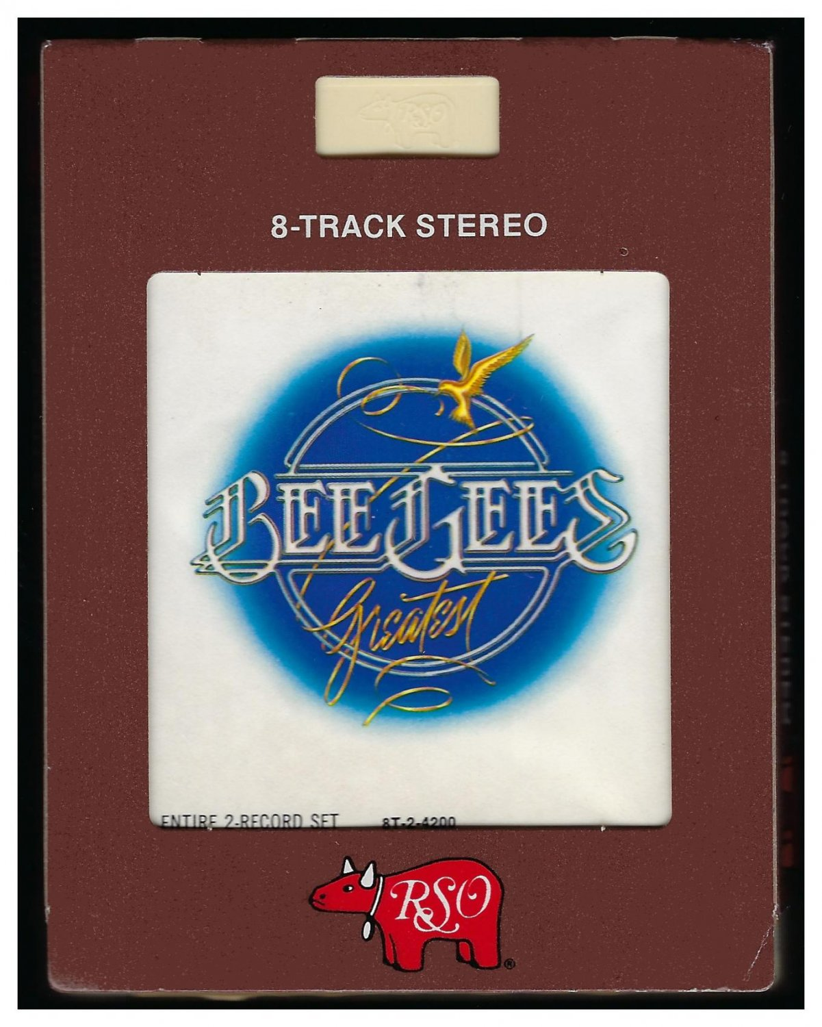 Bee Gees - Bee Gee's Greatest Hits Entire 2-Record Set 1979 RSO A45 8-TRACK TAPE