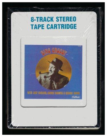 Bing Crosby - The Radio Years Vol 1 1985 CRC CRESCENDO Sealed A36 8-TRACK TAPE