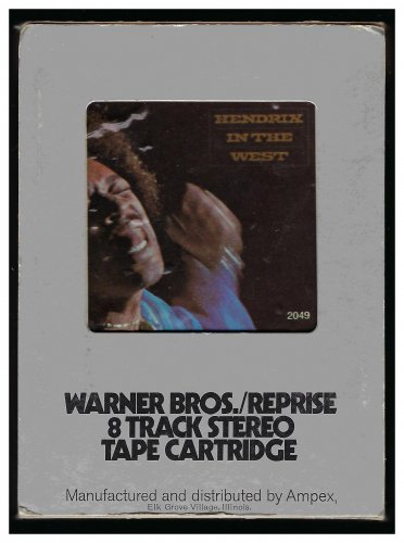 Jimi Hendrix - Hendrix In The West 1972 REPRISE A44 8-TRACK TAPE